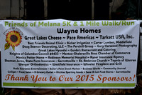 2015 FRIENDS OF MELANA 5K